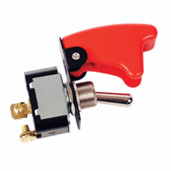 Longacre 45490 Ignition// Start Switch Combo w// Flip-Up Cover
