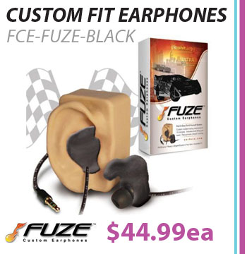 Fuze Custom Fit Earphones